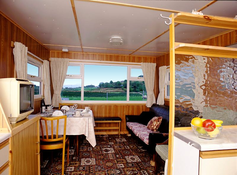 holiday caravan near Poolewe